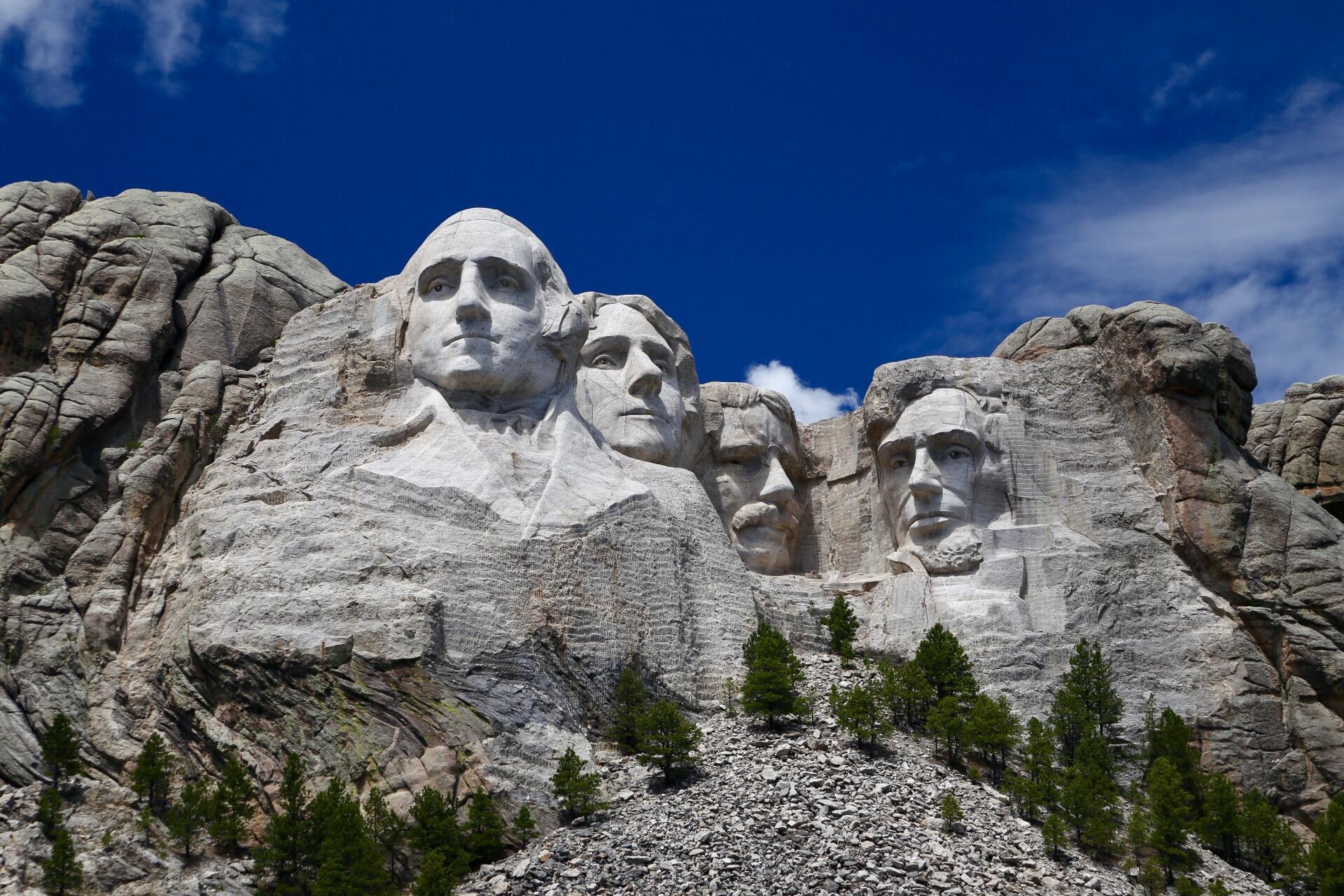 Mount Rushmore Namen